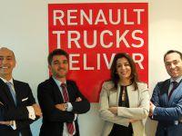 Renault Trucks'a deneyimli isimler katıldı