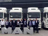 Ankara Nakliyat'a 10 Adet MAN çekici