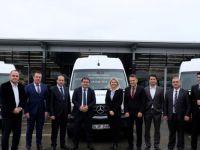 Mercedes-Benz Türk, Öz Uludağ Turizm'in filosuna 10 adet Sprinter teslim etti