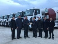Sedaş Beton'a 25 Adet Ford Trucks