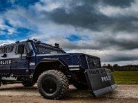 Hamburg Polisi, Allison şanzıman donanımlı özel zırhlı araçlara güveniyor