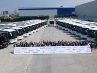 Mercedes'ten Toplu Otobüs Teslimatı