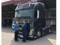 Temsa'dan Tantaoğlu Ticaret'e ilk Volvo Trucks teslimatı