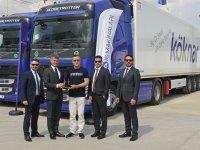 Köknar ve Volvo Trucks teslimatı gerçekleşti