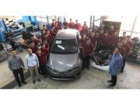 Toyota otomotiv sanayi'nin Teknik eğitime desteği arttı