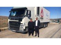 Volvo Trucks'tan yeni teslimat