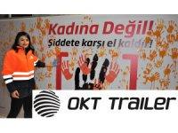 OKT Trailer, Kadına şiddete karşı el kaldırdı