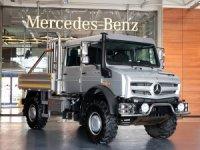 Mercedes-Benz Unimog şehir yollarında