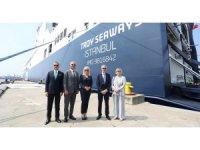 DFDS dev Ro-Ro gemisini Türkiye'ye getirdi