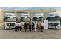 TruckStore'dan 50 adetlik Actros teslimatı