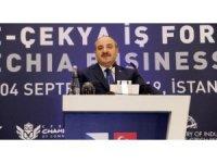 Çekya Başkanı Ruhsar Pekcan ile görüştü