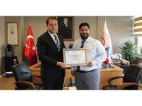 DHL Express'e yetkilendirilmiş yükümlü sertifikası