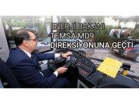 Bakan Fatih Dönmez, Temsa Otobüsü kullandı