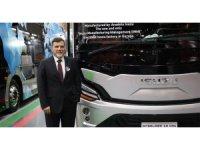 Anadolu Isuzu Brüksel Busworld'de boy gösteriyor