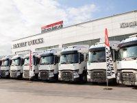 Renault Trucks'dan 10 adetlik teslimat