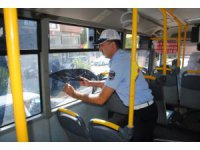 Şanlıurfa'da Toplu Taşıma araçlarına denetim yapıldı