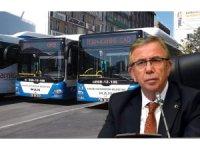 """Mansur yavaş """"300 yeni otobüs alacağız"""""""