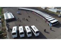 Isuzu'dan Şanlıurfa'ya 27 adet otobüs teslimatı