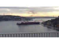 Yük Gemisi İstanbul Boğazında karaya vurdu!