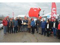 Tarım kredi kooperatifi İzmir Bölge Birliği, Filosuna 12 adet Isuzu kattı