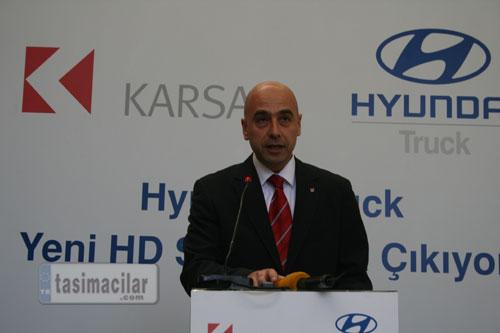 Hyundai truck yeni hd serisi bursa dan yola çıkıyor